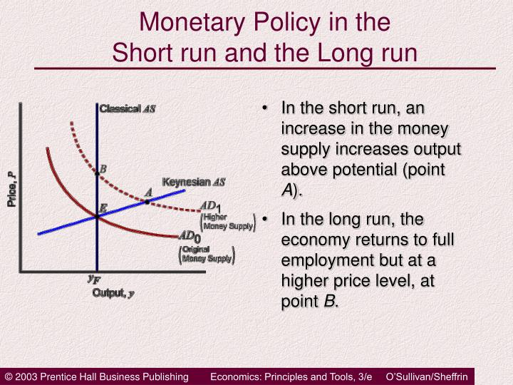 measuring short run and long run Measuring short-run inflation for central bankers  noise causes short-run changes in measured inflation to inaccurately reflect movements in long-run trends,.