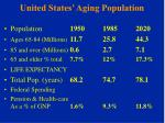 united states aging population