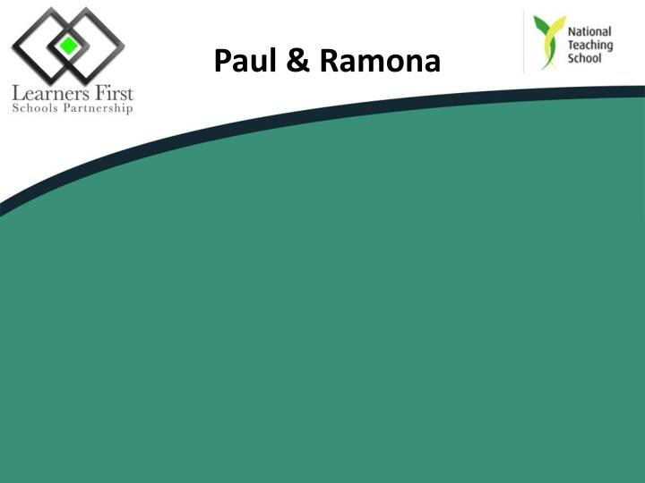 Paul & Ramona