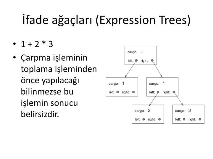 İfade ağaçları (Expression