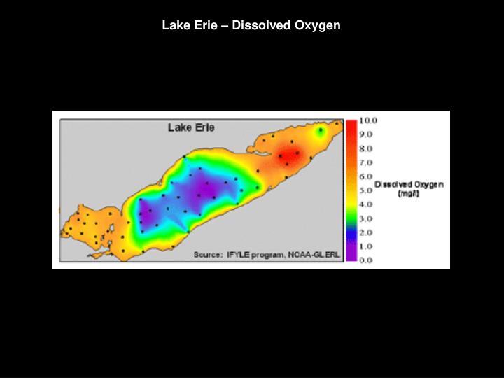 Lake Erie – Dissolved Oxygen