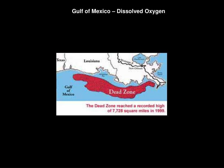 Gulf of Mexico – Dissolved Oxygen