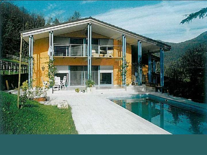 Hills of lugano villa with swimming pool wide park and boxes for horses
