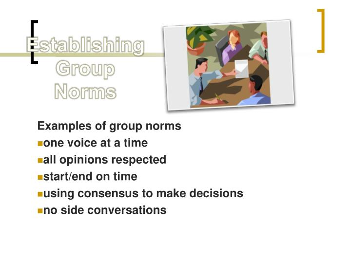 Examples of group norms