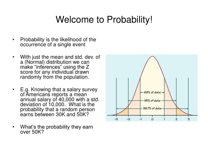Welcome to Probability!