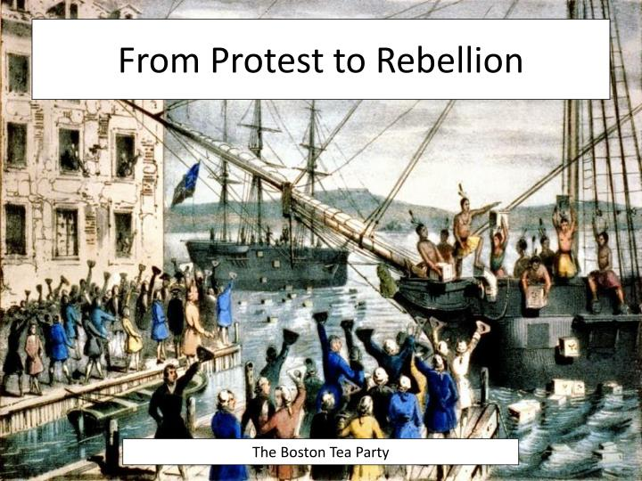 from protest to rebellion n.