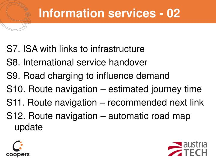 Information services - 02