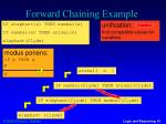 forward chaining example4