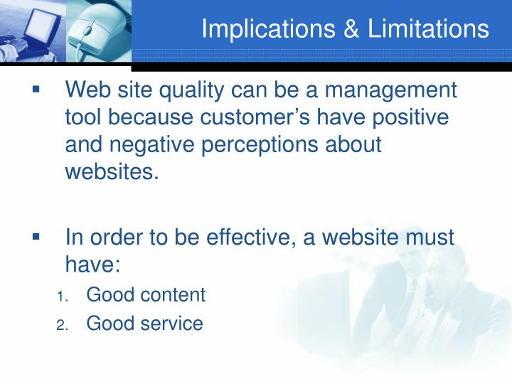 Implications & Limitations