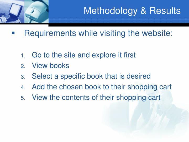 Methodology & Results