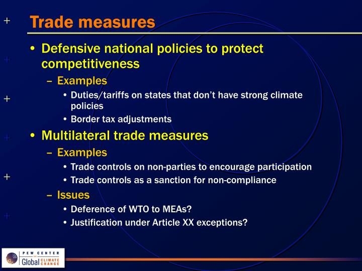 Trade measures