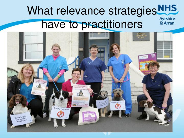 What relevance strategies