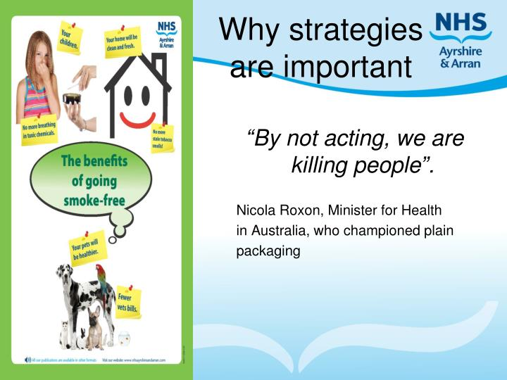 Why strategies