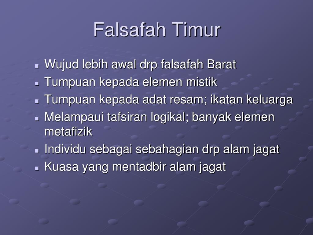 Ppt Falsafah Timur Powerpoint Presentation Id 6117049