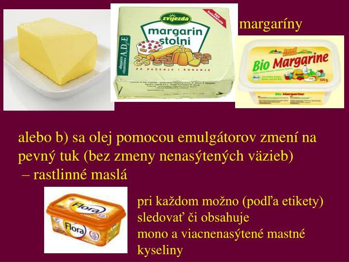 margaríny