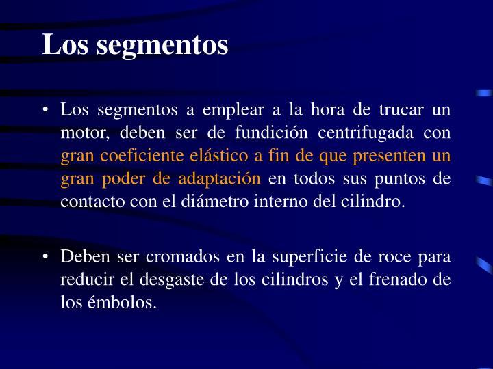 Los segmentos