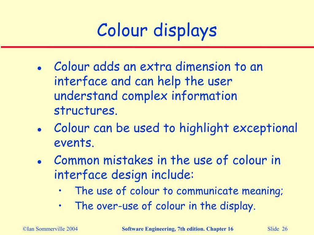 PPT - User interface design PowerPoint Presentation - ID:6117217