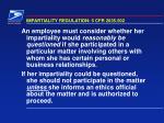 impartiality regulation 5 cfr 2635 502