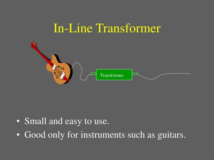 In-Line Transformer