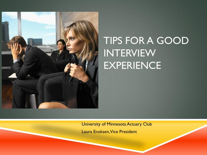 a red and white job interview tips coupon with great terms such