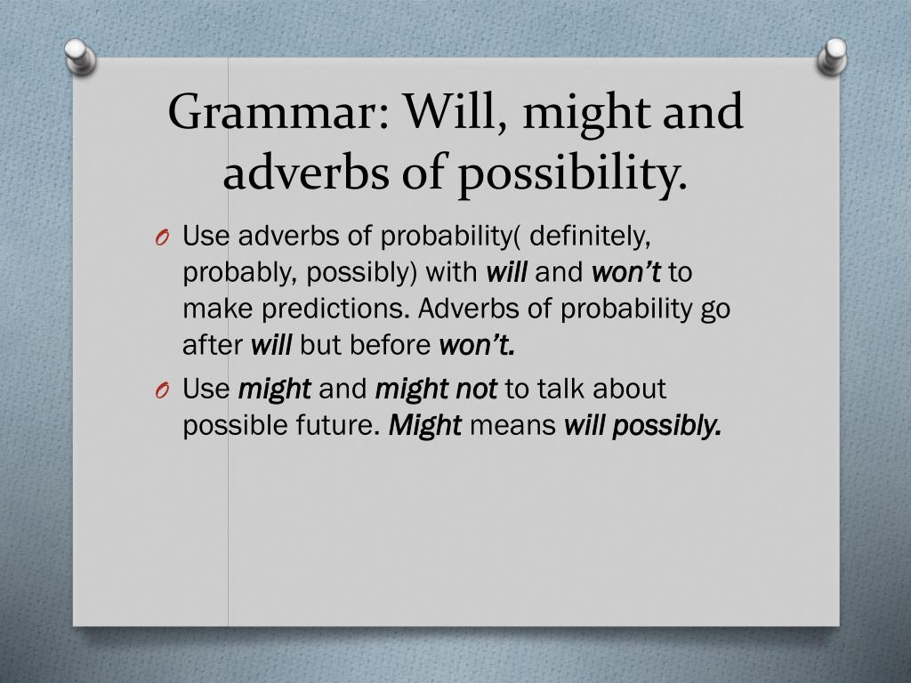 PPT - Unit 3  Future predictions   PowerPoint Presentation