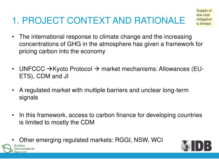 1 project context and rationale