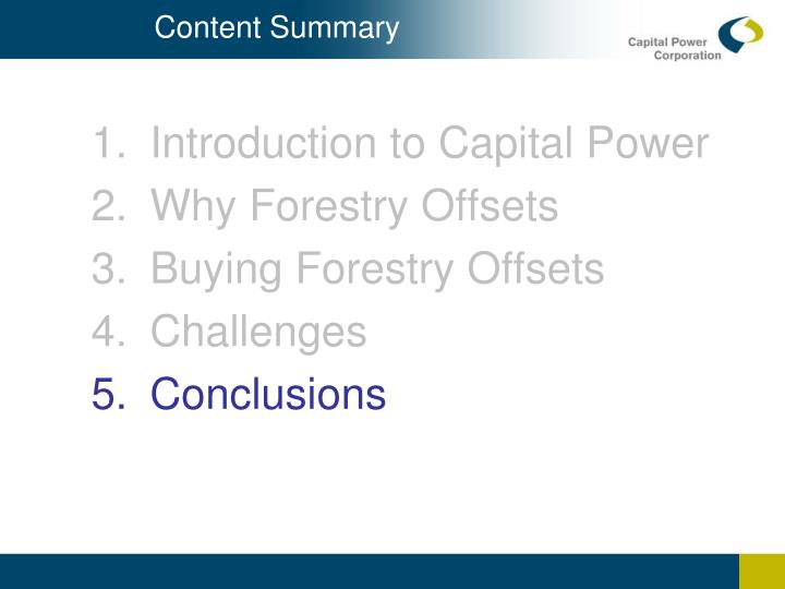 Content Summary