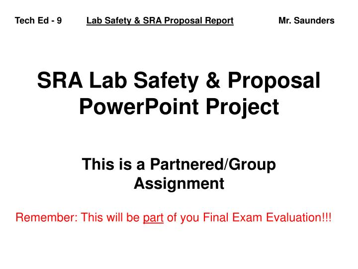 lab safety assignment Chem 9: general chemistry i laboratory course assignments: pre pre-lab assignment you must be in lab on time in order to complete these assignments.