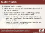 facility toolkit
