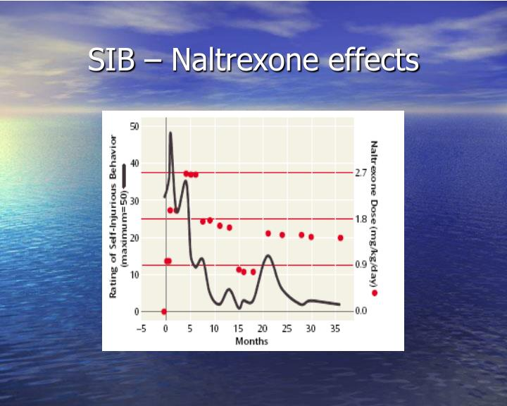 SIB – Naltrexone effects
