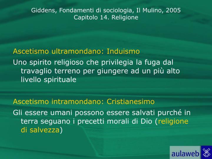 Ascetismo ultramondano: Induismo
