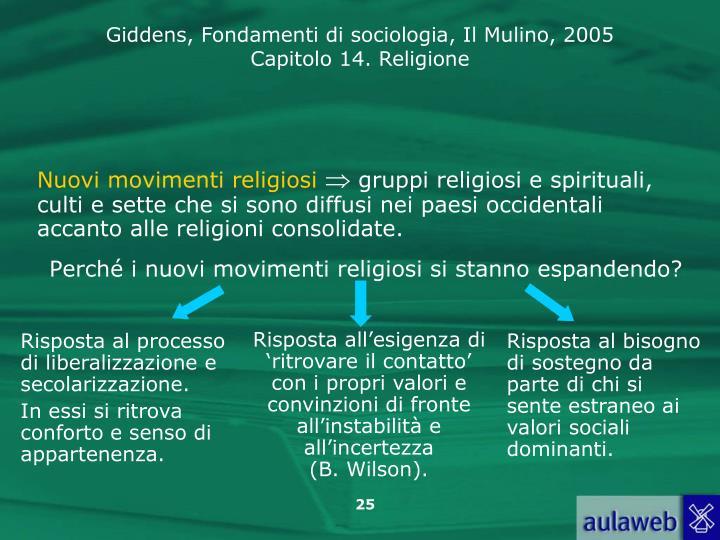 Nuovi movimenti religiosi