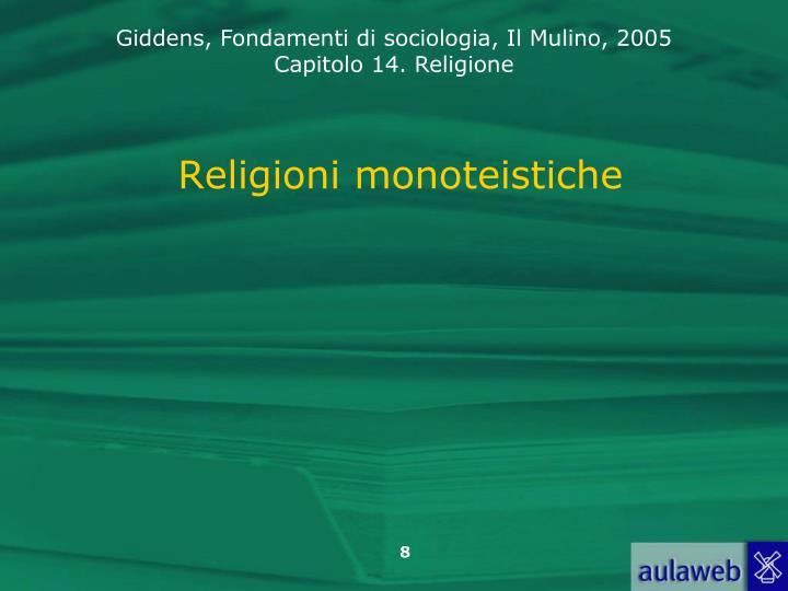 Religioni monoteistiche