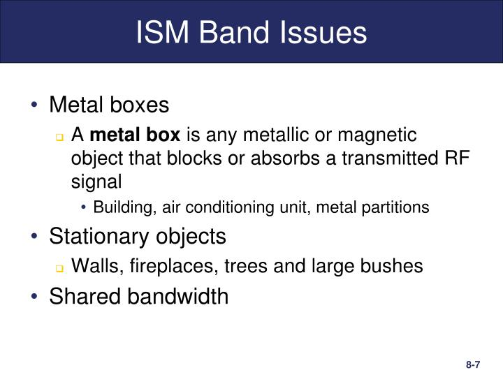 ISM Band Issues