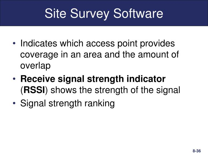 Site Survey Software