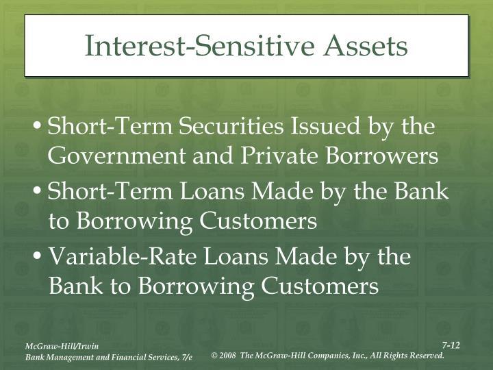 Interest-Sensitive Assets