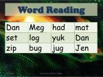 word reading1