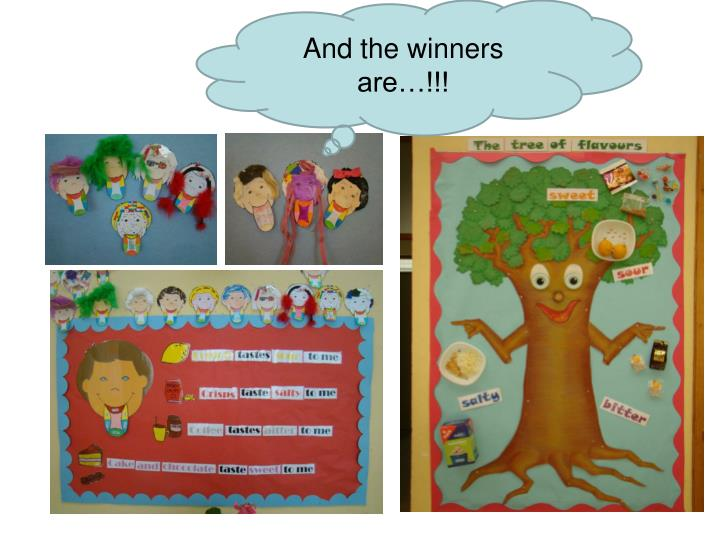And the winners are…!!!