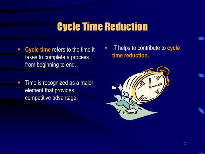 Cycle Time Reduction