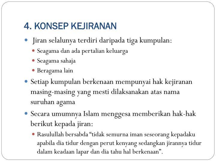 4. KONSEP KEJIRANAN