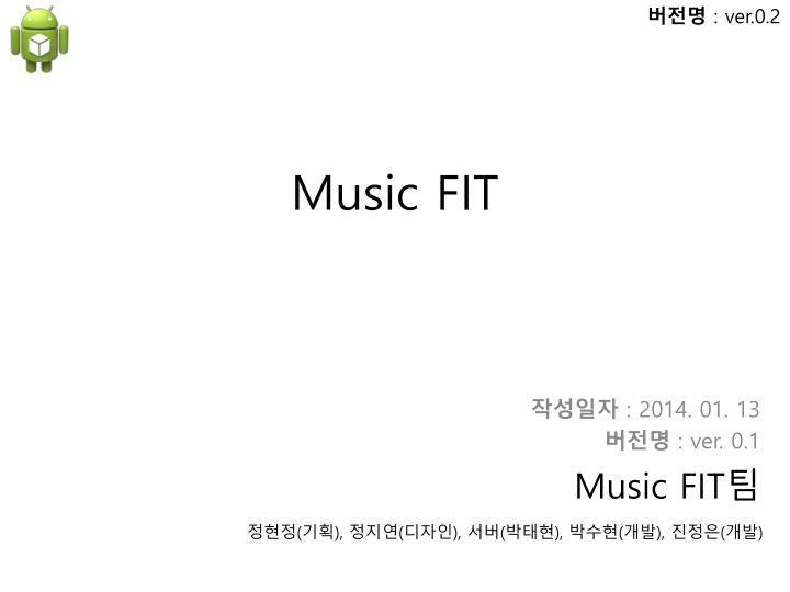 Music fit