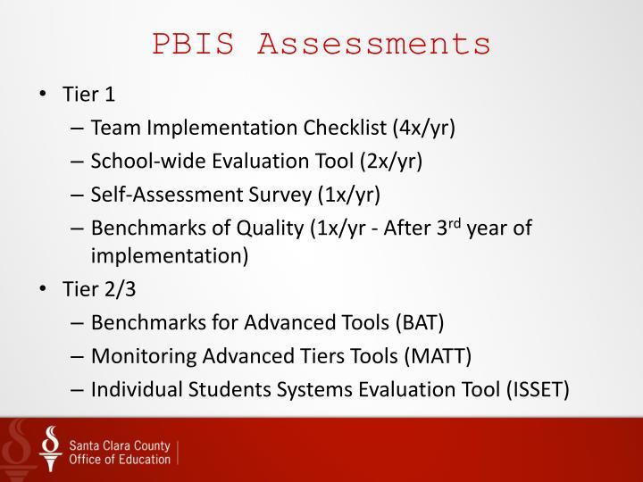 PBIS Assessments