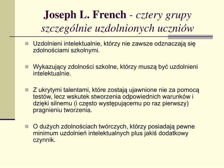 Joseph L. French