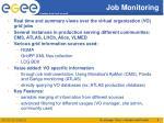 job monitoring