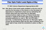 fiber optic public lands rights of way11
