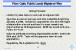 fiber optic public lands rights of way19
