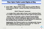 fiber optic public lands rights of way7