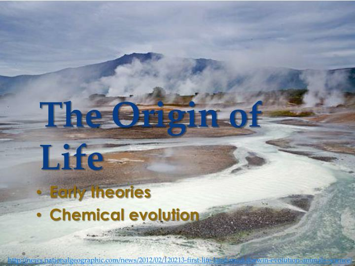 essay on chemical evolution Read evolution free essay and over 88,000 other research documents evolution evolutionary ideas such as common descent and the transmutation of species have existed since at least the 6th century bce.