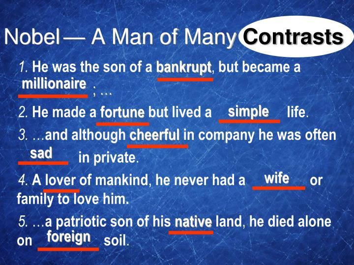 — A Man of