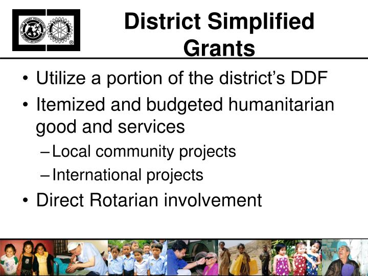 District simplified grants1